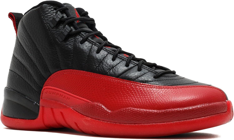 Amazon Com Air Jordan 12 Retro Flu Game 2016 130690 002 Shoes