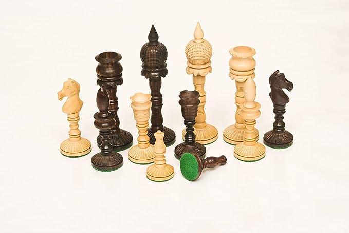 226 Rosewood & Boxwood 5.25 Chess Set