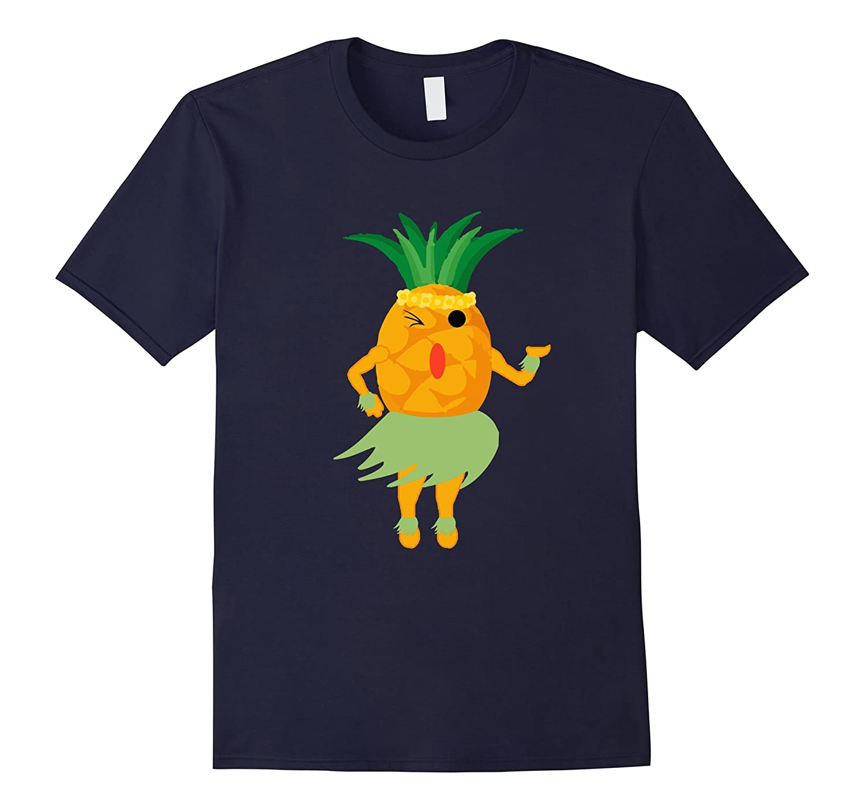 Pineapple Luau Shirt - Funny Halloween Shirt-ANZ