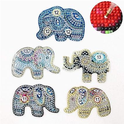 jewellery making elephant keyring kit makes 10 keyrings