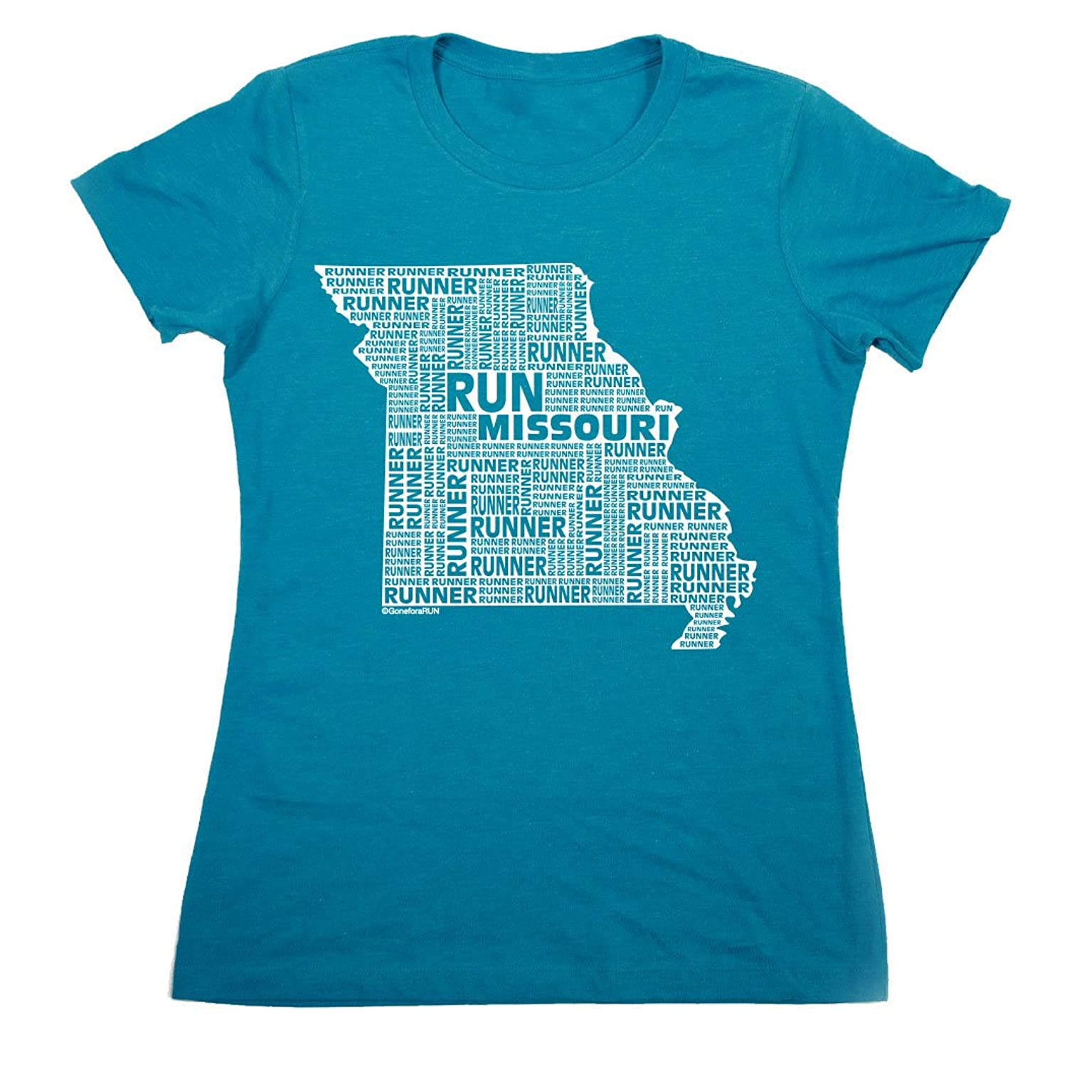 Womens Everyday Runners Tee - Missouri State Runner
