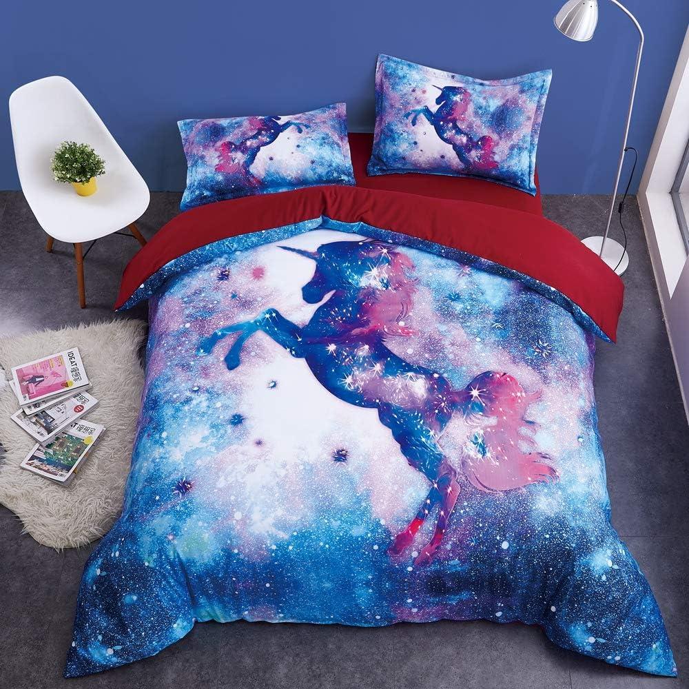 3D-unicorn-design-duvet-cover
