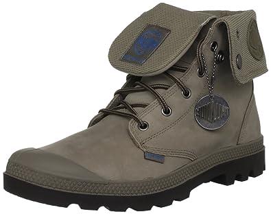 25a625d5777 Palladium Baggy Leather Gusset Black/Dark Gum M , Mens Boots