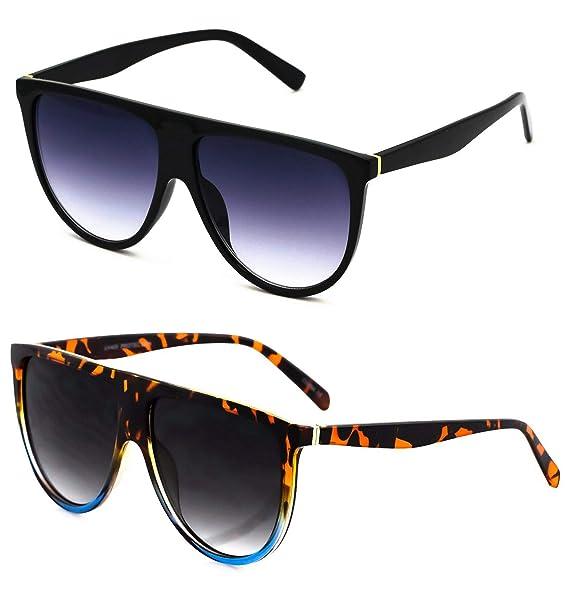 Amazon.com: Gafas de sol grandes estilo aviador, estilo ...
