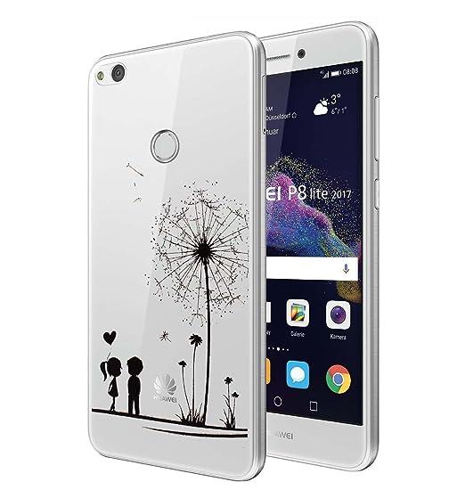 31 opinioni per Huawei P8 Lite 2017 Custodia, ocketcase® Morbido Flessibile TPU Gel Silicone