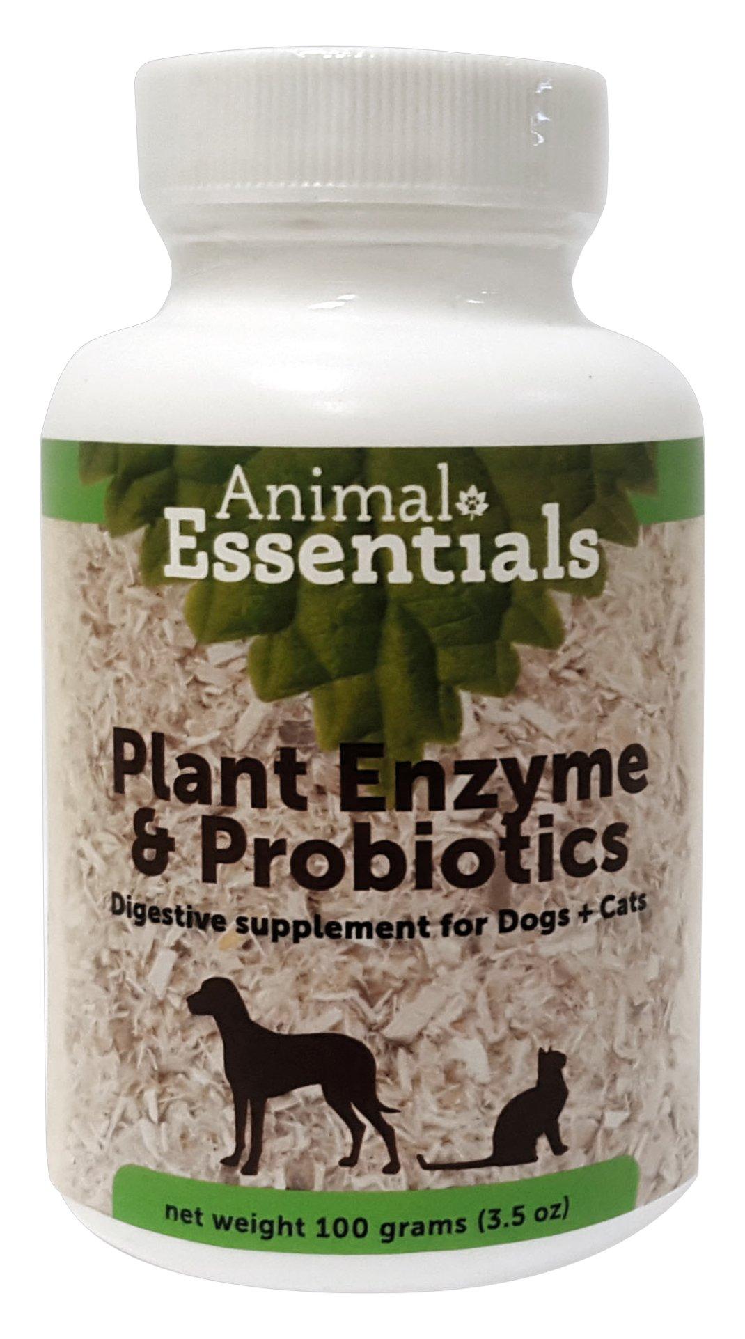 Animal Essentials Plant Enzymes & Probiotics Supplement, 100g by Animal Essentials