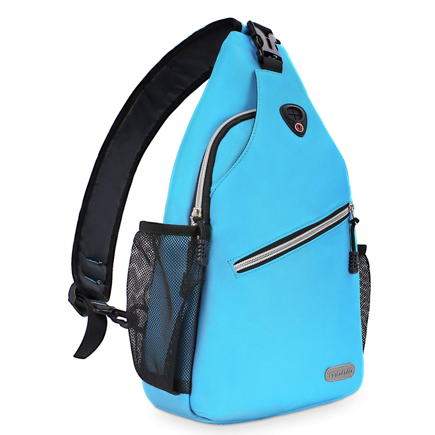 MOSISO Sling Backpack, Multipurpose Crossbody Shoulder Bag Travel Hiking Daypack Bird