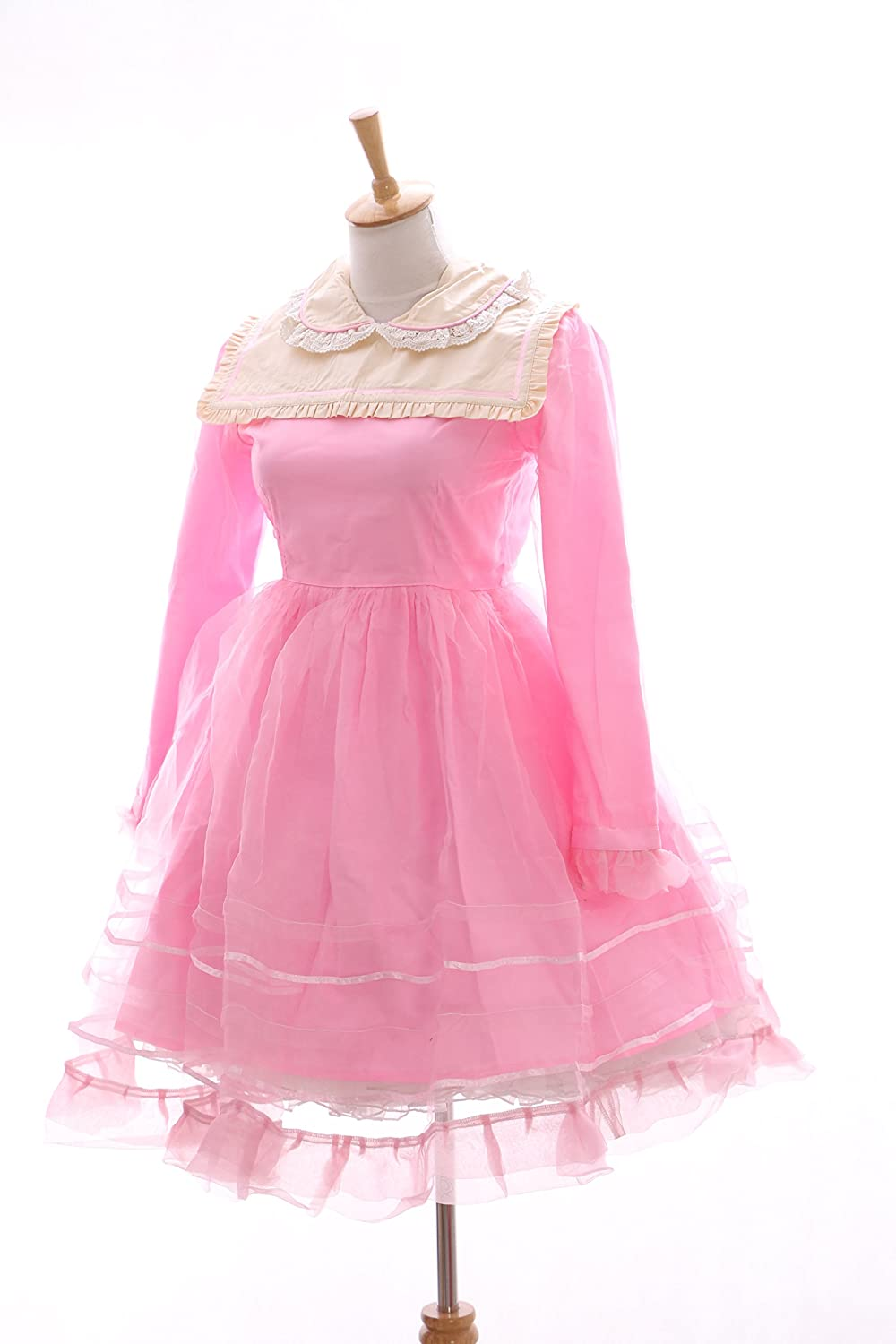 Kawaii-Story JL de 565 - 2 Color Rosa Gothic Lolita Japón Vestido Disfraz Dress Cosplay Baby Doll: Amazon.es: Juguetes y juegos