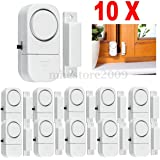 Generic Wireless Burglar Security Alarm System Magnetic Sensor for Door and Window