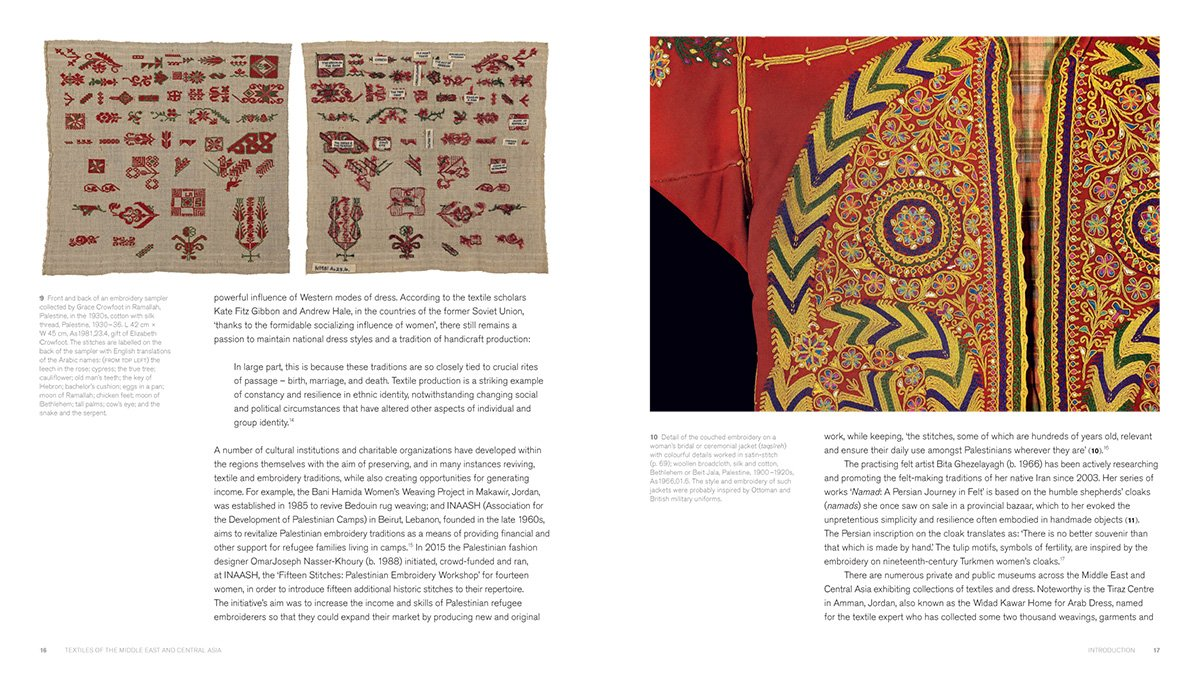 Textiles of the Middle East and Central Asia: The Fabric of Life by THAMES HUDSON (Image #5)
