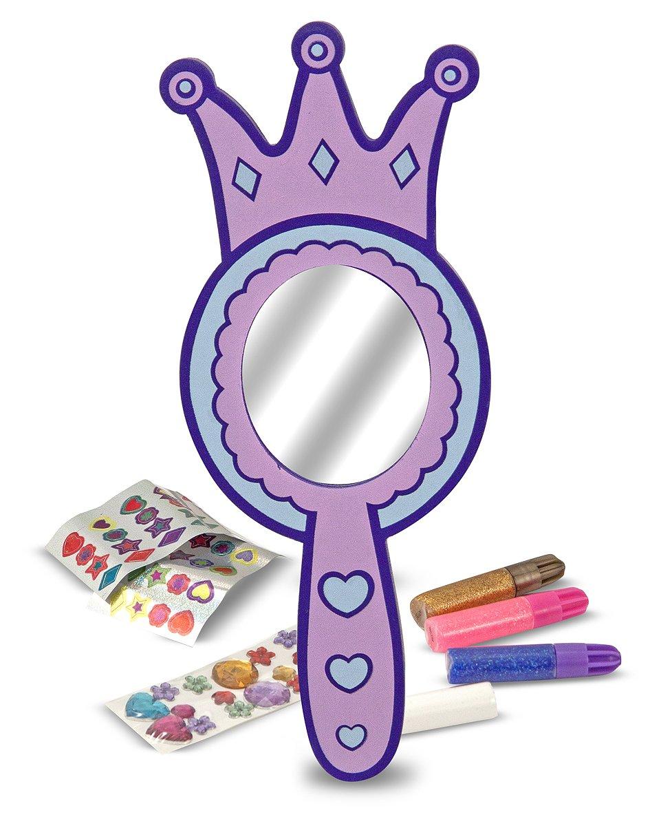 Melissa & Doug 13096 - Decora a tu gusto: espejo de princesa de ...