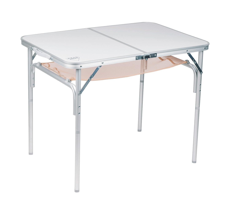 Camp Gear Füße Tisch Grau 90 x 60 cm