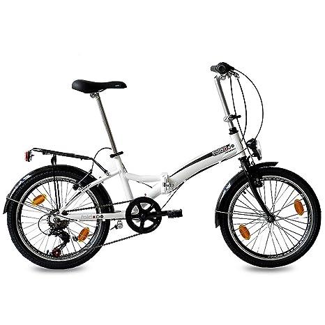 Bici Pieghevole In Alluminio.20 Bici Pieghevoli City Bike Foldo Alluminio 6 Velocita Shimano Bianco W 50 8 Cm 20 Pollici