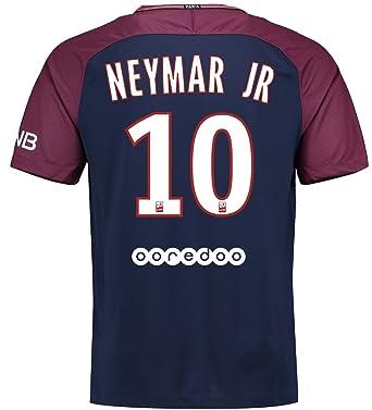cc2d4f01983 Image Unavailable. Image not available for. Color: NIKE Mens 2017-18 Paris  Saint-Germain Neymar JR Home ...