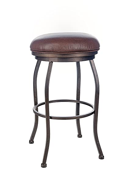 Amazoncom Felix 30 Backless Swivel Bar Stool Bronze Finish Ford
