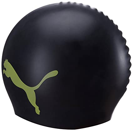 Buy Puma Swim Cap (Black Sunny Lime) Online at Low Prices in India -  Amazon.in b20a7bfd31f
