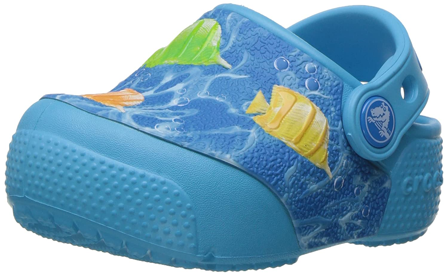 Crocs Kids' Crocsfunlab Lights Fish Clog CrocsFunLab Lights Fish - K