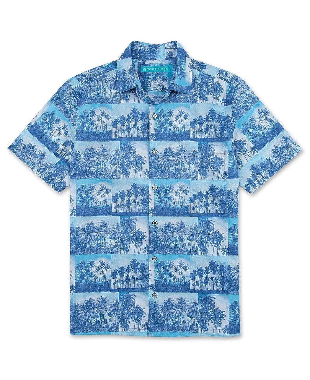 Tori Richard Big and Tall Kodachrome Hawaiian Camp Shirt