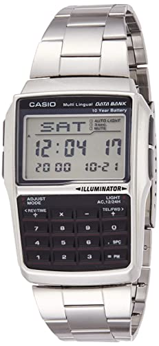 Casio Men's DBC-32D-1ADF Data Bank Calculator Watch