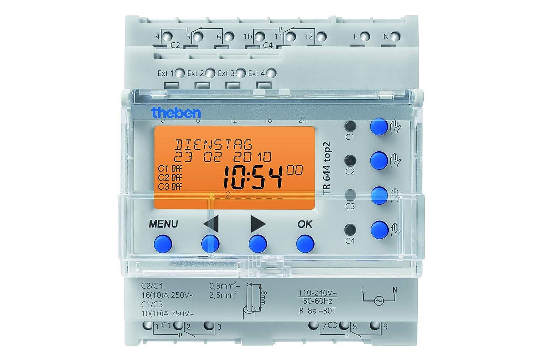 Theben 6440100 TR 644 TOP2 Horloge num/érique programmable