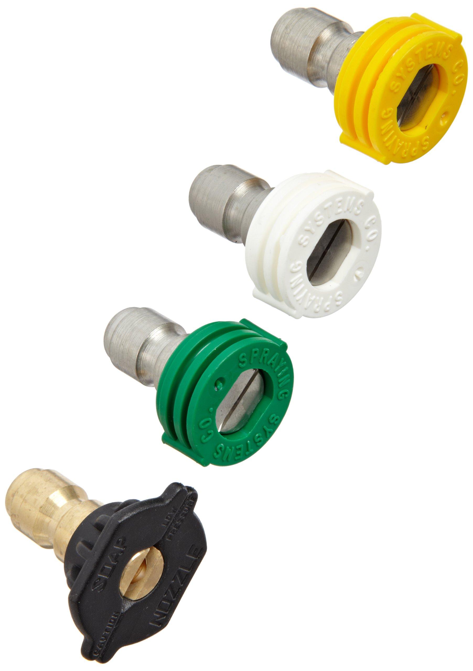 Dixon MSP4PAK Multi-Pack Quick-Connect Brass Spray Nozzle Set