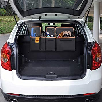 Siivton backseat trunk organizer car trunk organizer back seat siivton backseat trunk organizer car trunk organizer back seat trunk storage organizer for kids solutioingenieria Image collections
