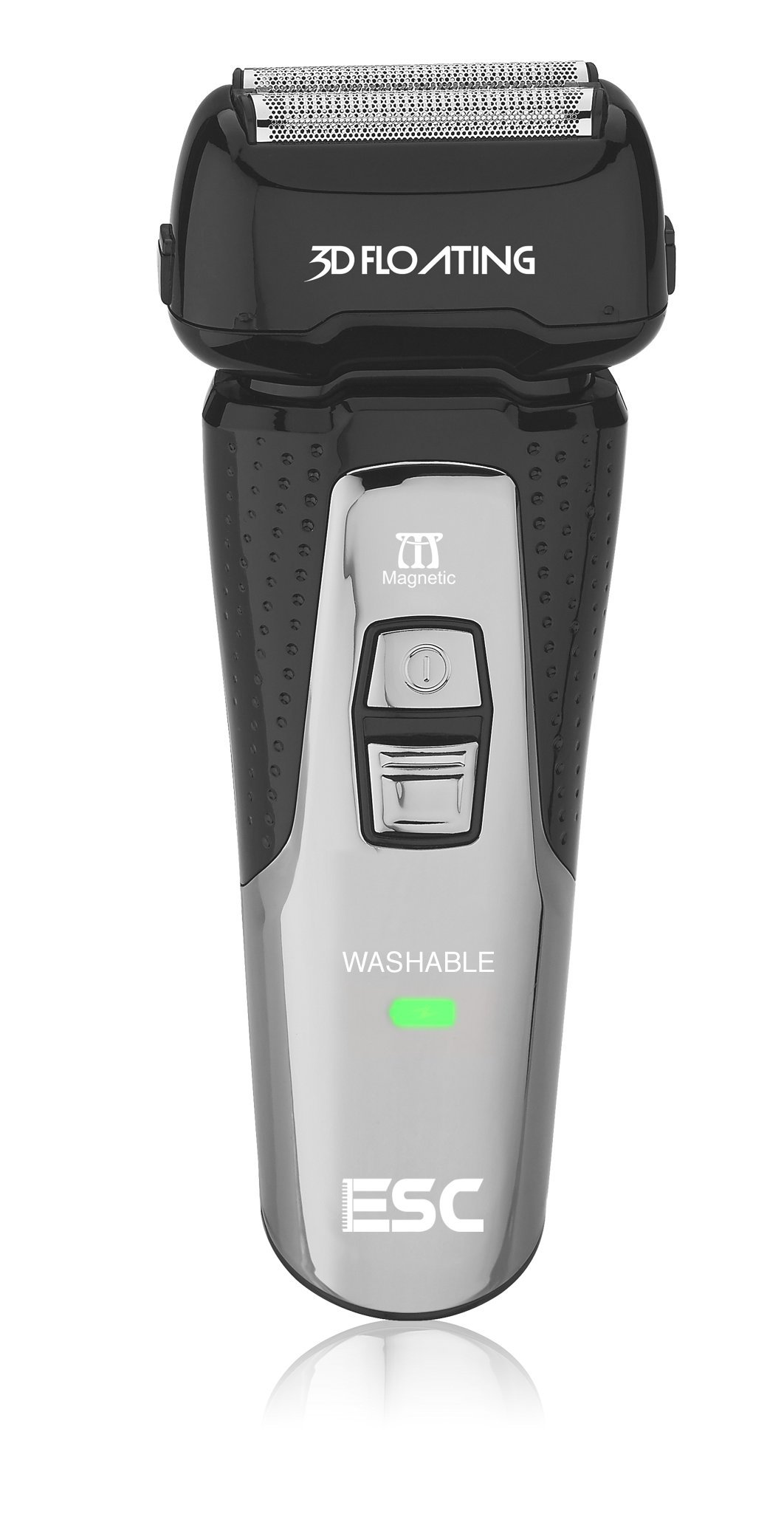 ESC-100 Wet and Dry Electric Razor for men, Cordless and Rechargeable Shaver. By Electric Shave Club.