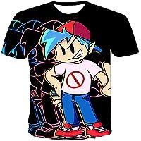 Phoetya Friday Night Funkin - Camiseta de manga corta para niños y niñas, estampado en 3D