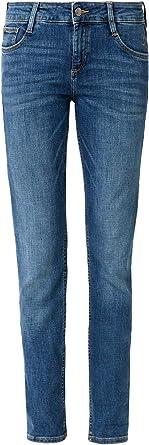 s.Oliver 04.899.71.5391 dżinsy damskie, wąskie, niebieskie (Blue Denim Stretch 57z7), 34/L34: Odzież