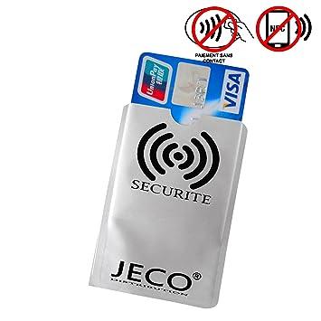 1 protector para Tarjeta ANTI-RFID/pago sin contacto tarjeta azul ...