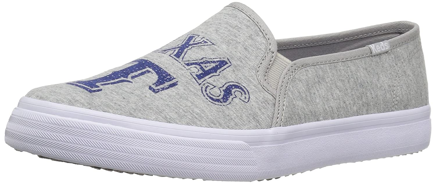 Keds Women's Double Decker MLB Fashion Sneaker B01L1E1J6W 9 M US|Rangers