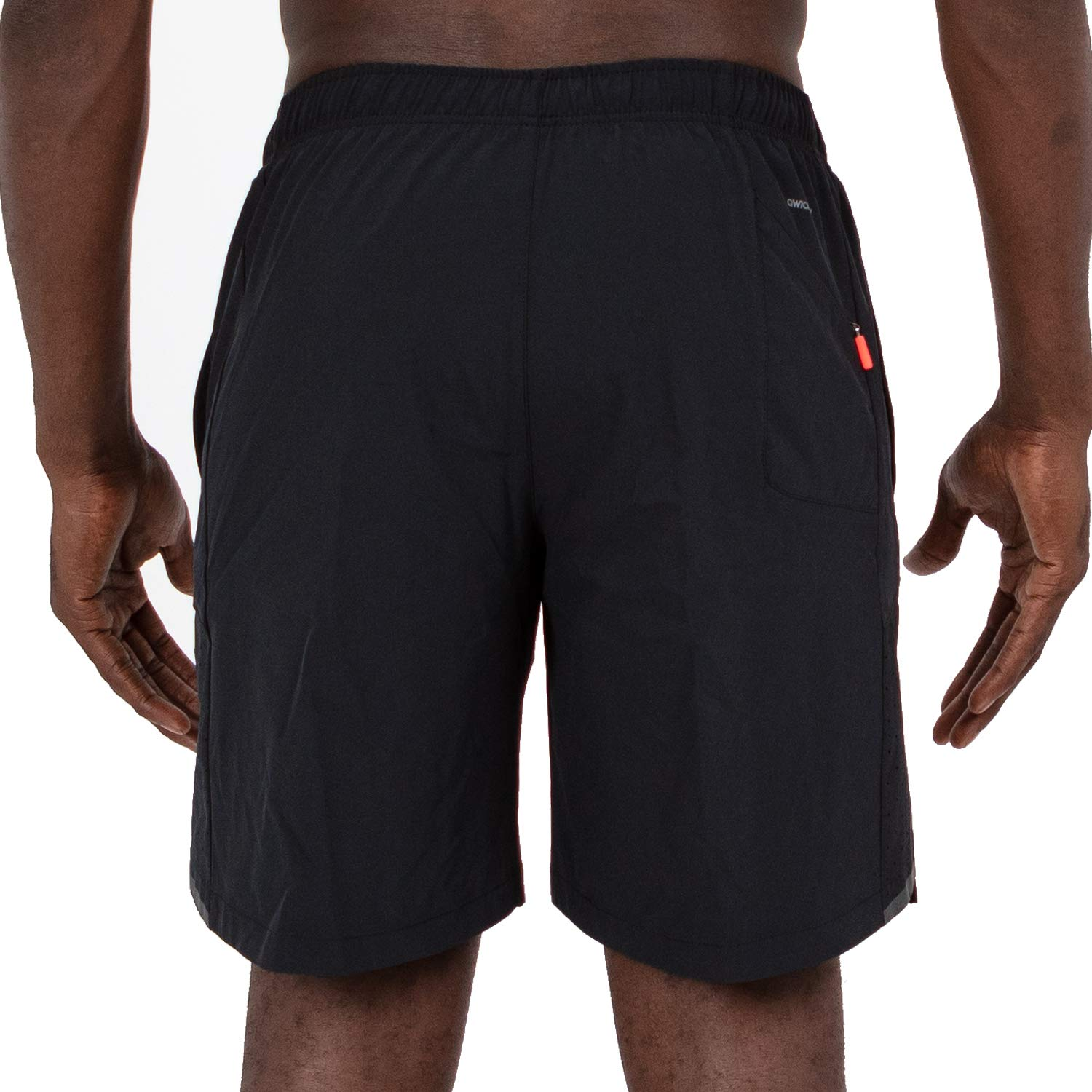 2c461e862d Amazon.com: Skora Men's Two in One and Unlined Athletic Running Shorts with  Pockets and Zip Back Pocket: Clothing