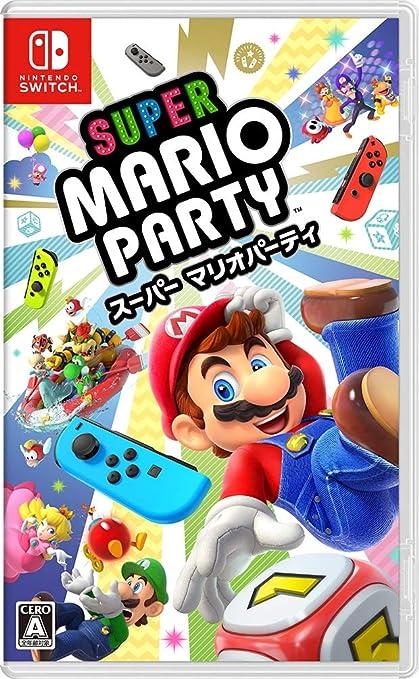 Super Mario Party NINTENDO SWITCH JAPANESE IMPORT REGION FREE ...