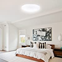 Lighting EVER LE 12 Inch 14W Dimmable LED Flush Mount Ceiling Light