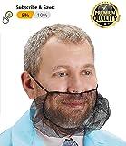 ABC 100 Pack of Disposable Soft Nylon Beard