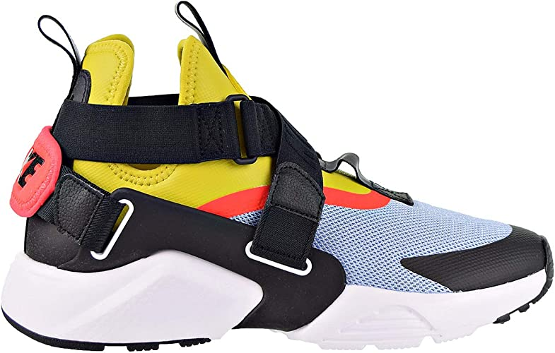 Nike Air Huarache City Women's Shoes AluminumBright CitronBlack ah6787 401