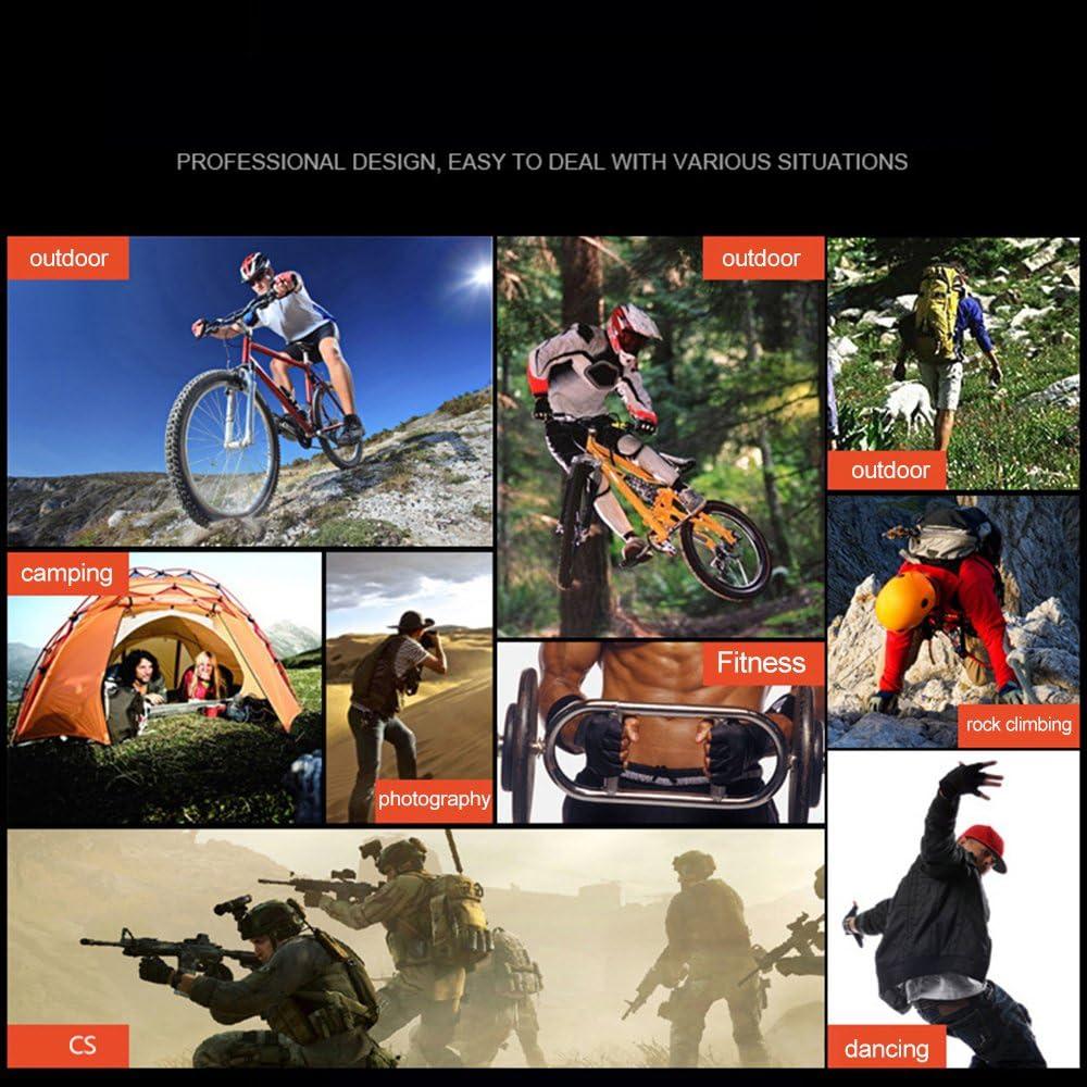 WEIHUIMEI Guantes de Bicicleta anticortes para el Aire Libre
