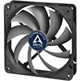Arctic AFACO-120PC-GBA01 - 120mm Dual Ball Bearing Low Noise PWM Standard Case Fan with PST Feature - Ideal for Systems running 24/7