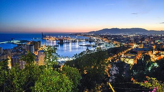 HEE WAG Fotos de paisajes de Málaga España Pintura por números DIY Único: Amazon.es: Hogar