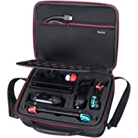 Smatree Hard Carrying Case N600 for Nintendo Switch-Fit for Nintendo Switch Pro Controller