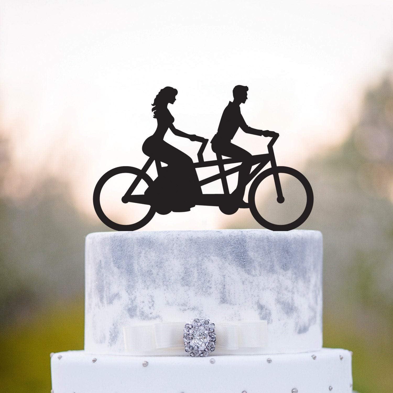 Tandem Bicicleta Boda Pastel Toppertandem Bicicleta Boda Pastel ...