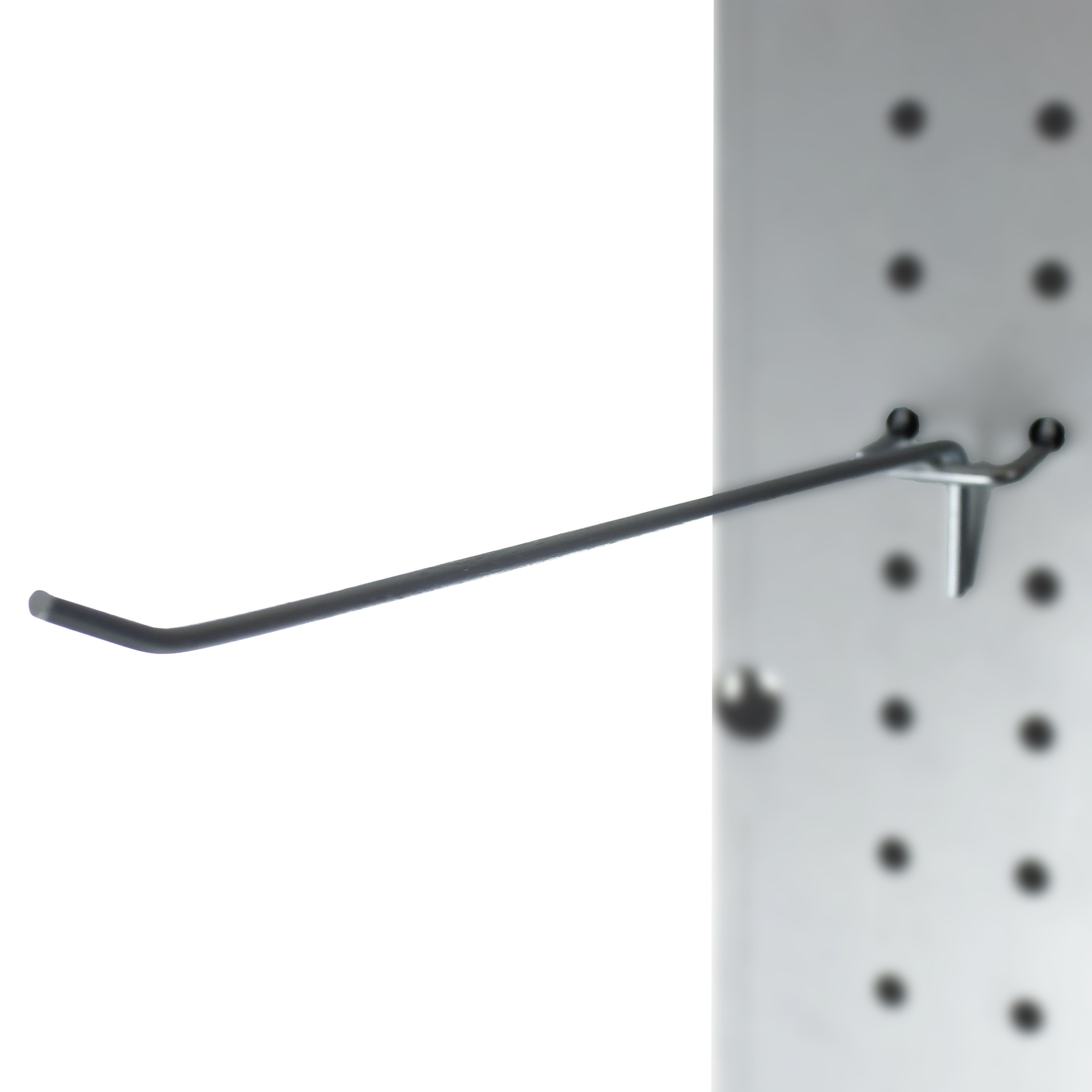 Presa CP40004-50PK Metal Peg Board Shelving Hooks, 8-Inch, 50-Pack