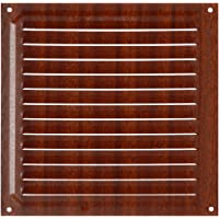 Brinox B70580Z Rejilla de ventilación, Madera Oscura, 20