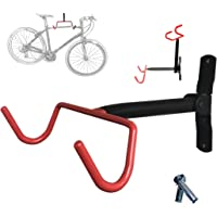 Bicycle Rack Garage Wall Mounted Bike Hanger Storage System Vertical Hook for Indoor Shed Easily Hang
