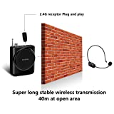 XIAOKOA 2.4G 40m Stable Wireless Voice Amplifier