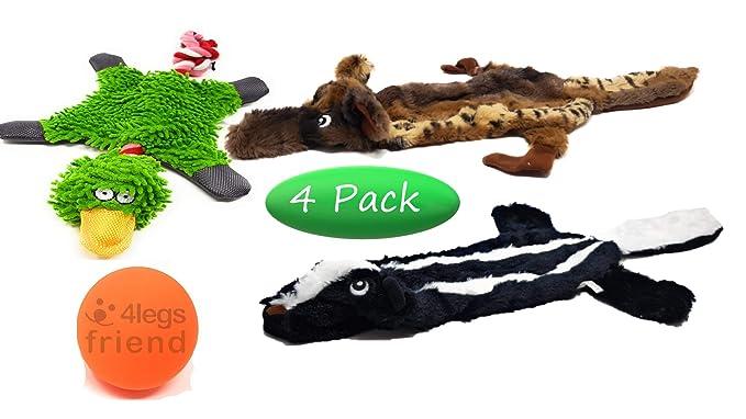 Amazon.com: Juguete de peluche para perro, diseño de ...