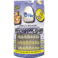 Instant Smile MULTISHADE Patented Temporary Tooth Repair Kit. A Realistic Looking Fix for a Missing or Broken Tooth
