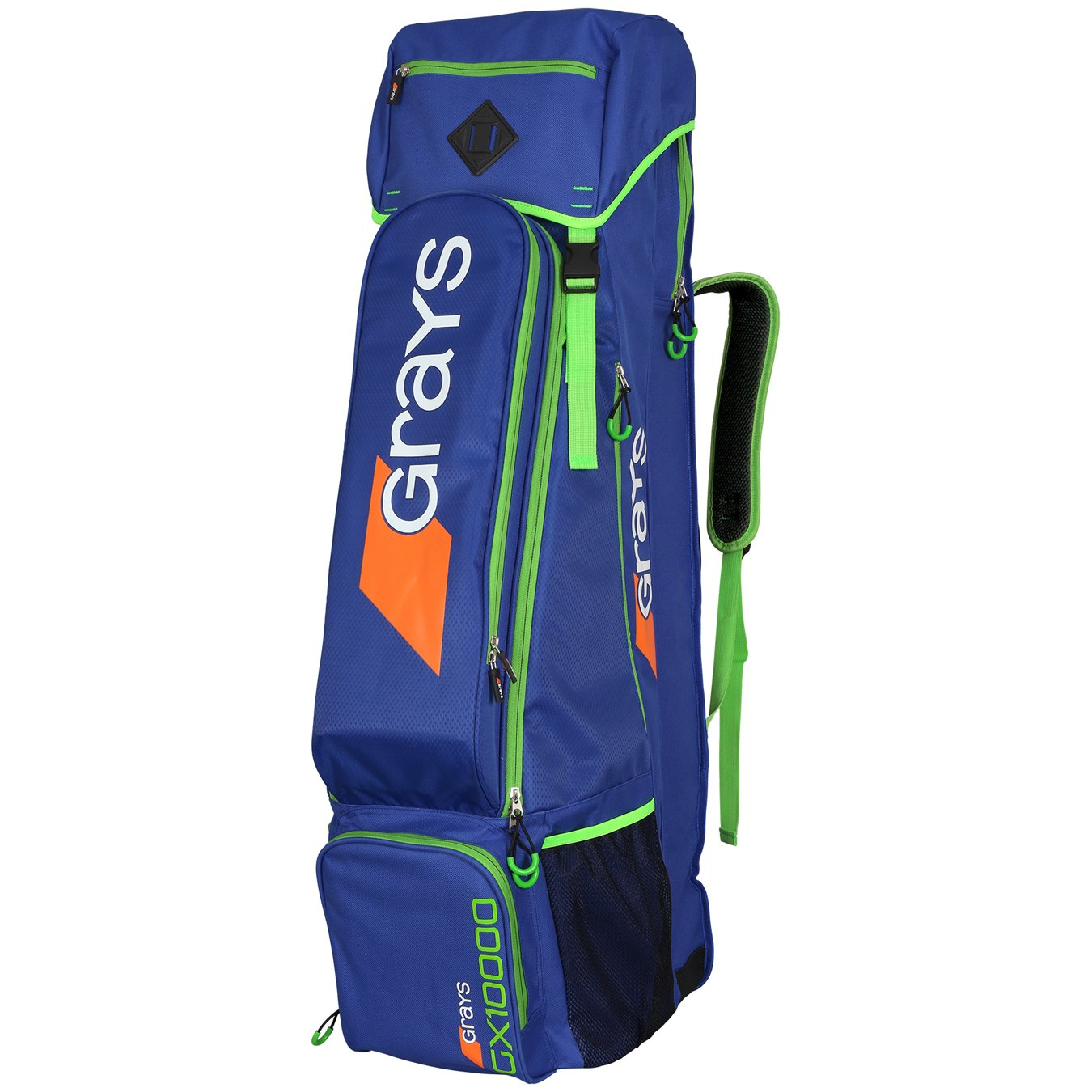 GRAYS GX10000 Bolsa Hockey Hierba, Azul/Verde, L: Amazon.es ...