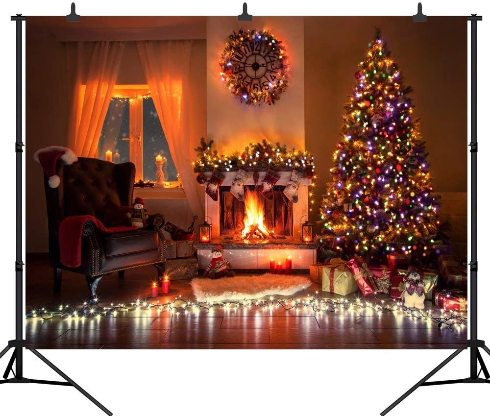 Color : H, Size : 210X150cm GQYLQ-OP Photography Cloth Christmas Theme Seamless Pictorial Cloth Photography Background Tree Elk Snowflake Snowman Backdrop for Video Photography and Television