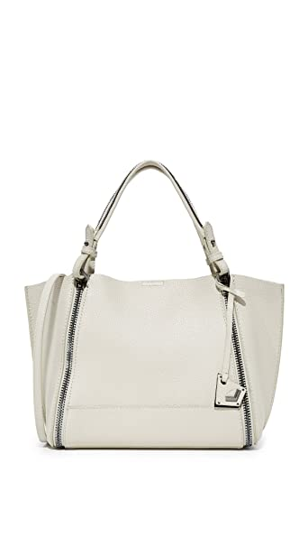 caca80f7f Buy Botkier Women's Soho East/West Big Zip Tote, Dove, One Size Online at  Low Prices in India - Amazon.in